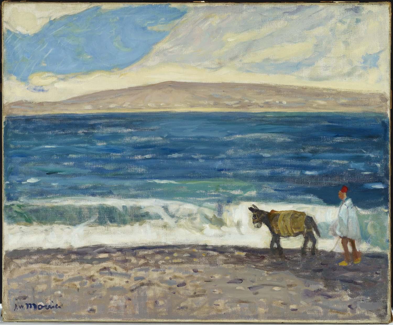 Tanger, la plage de J.W. Morrice
