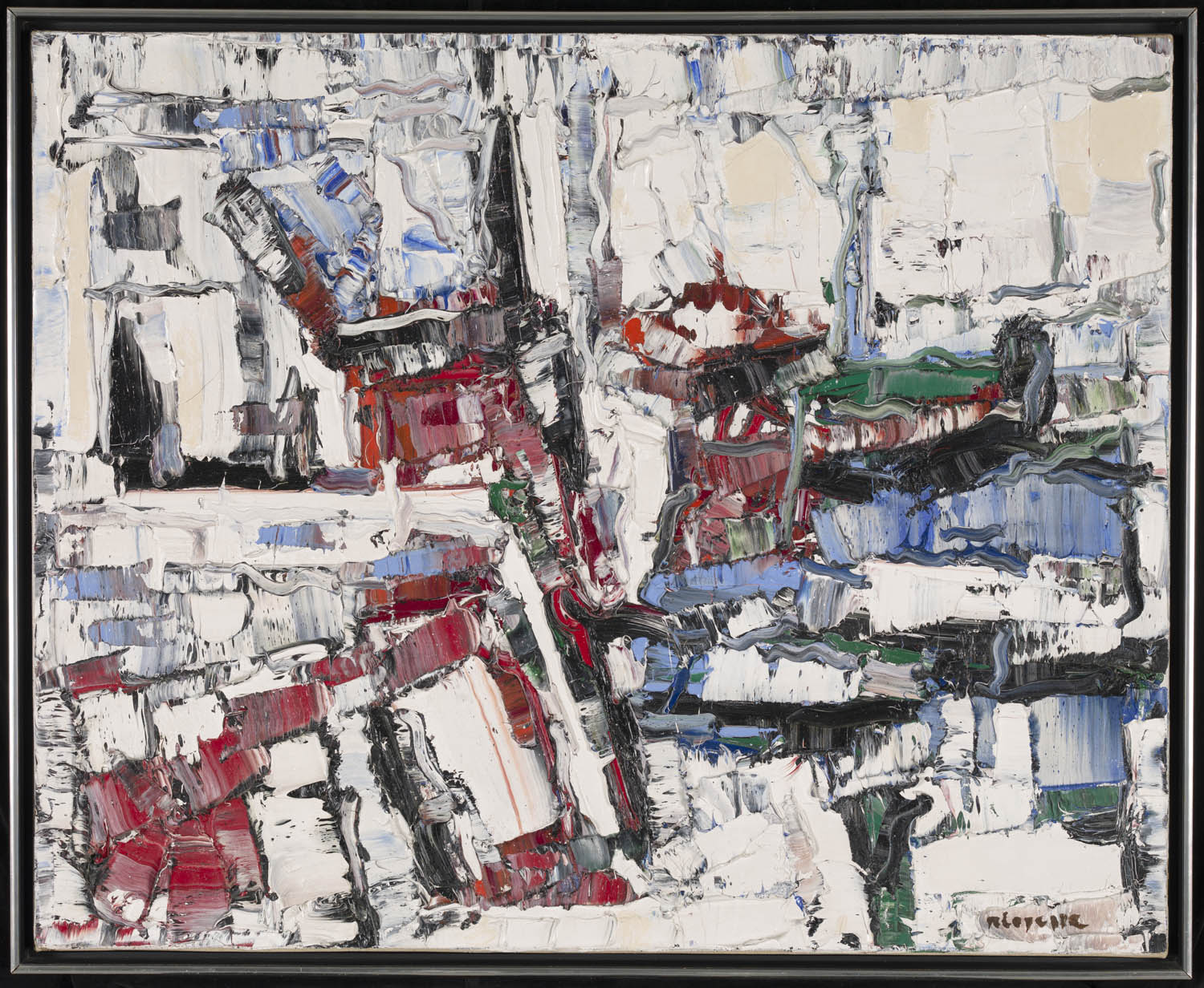 Jean-Paul Riopelle. Composition