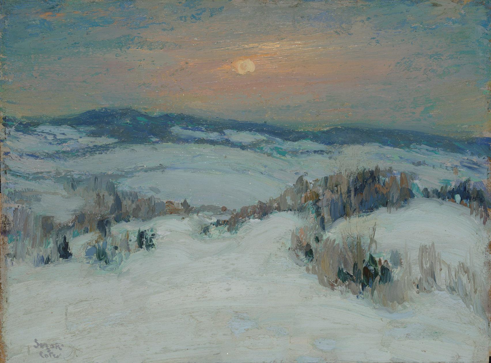 Suzor-Côté, Paysage d'hiver