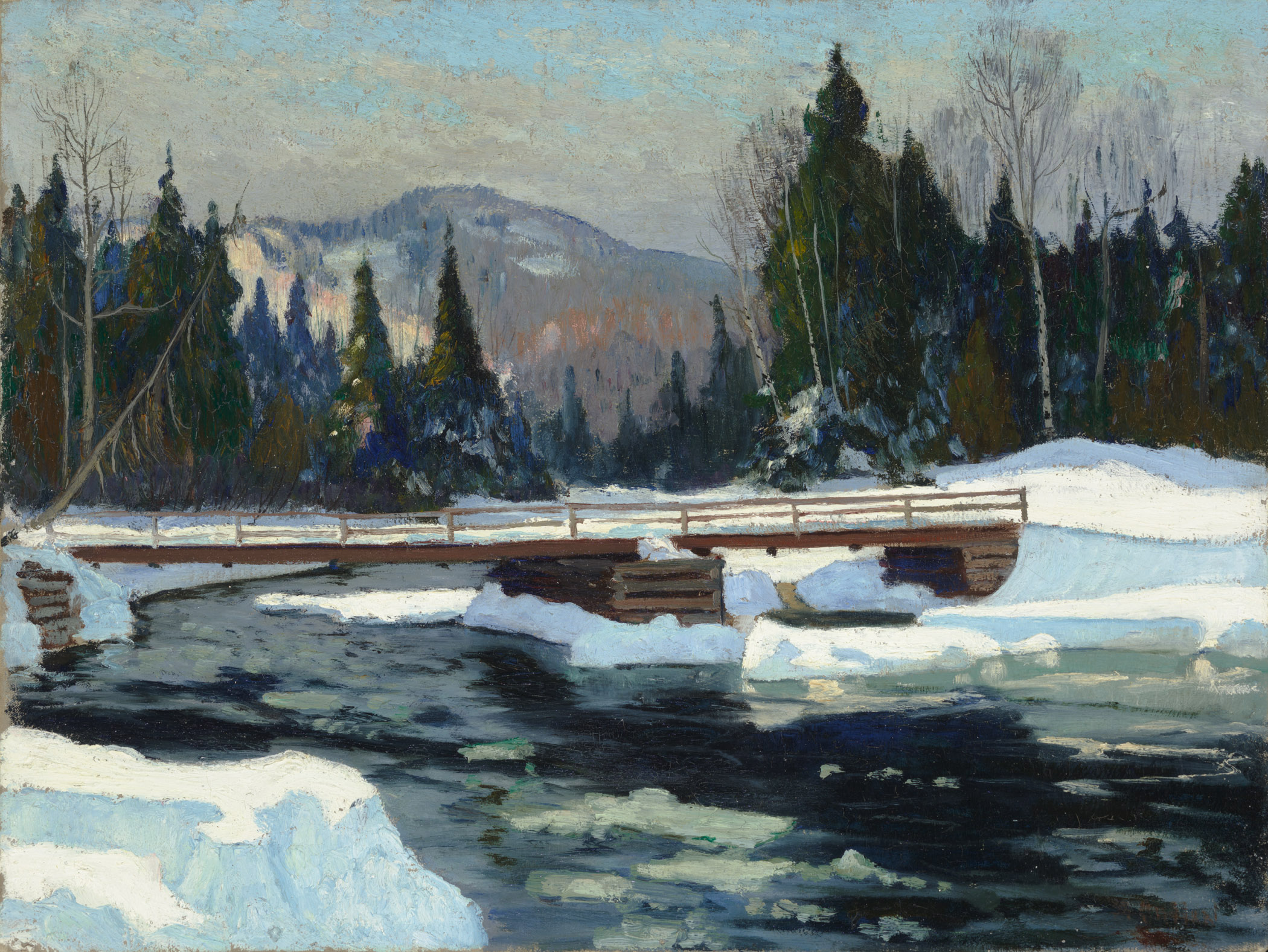 Maurice Cullen, Le vieux pont sainte-marguerite