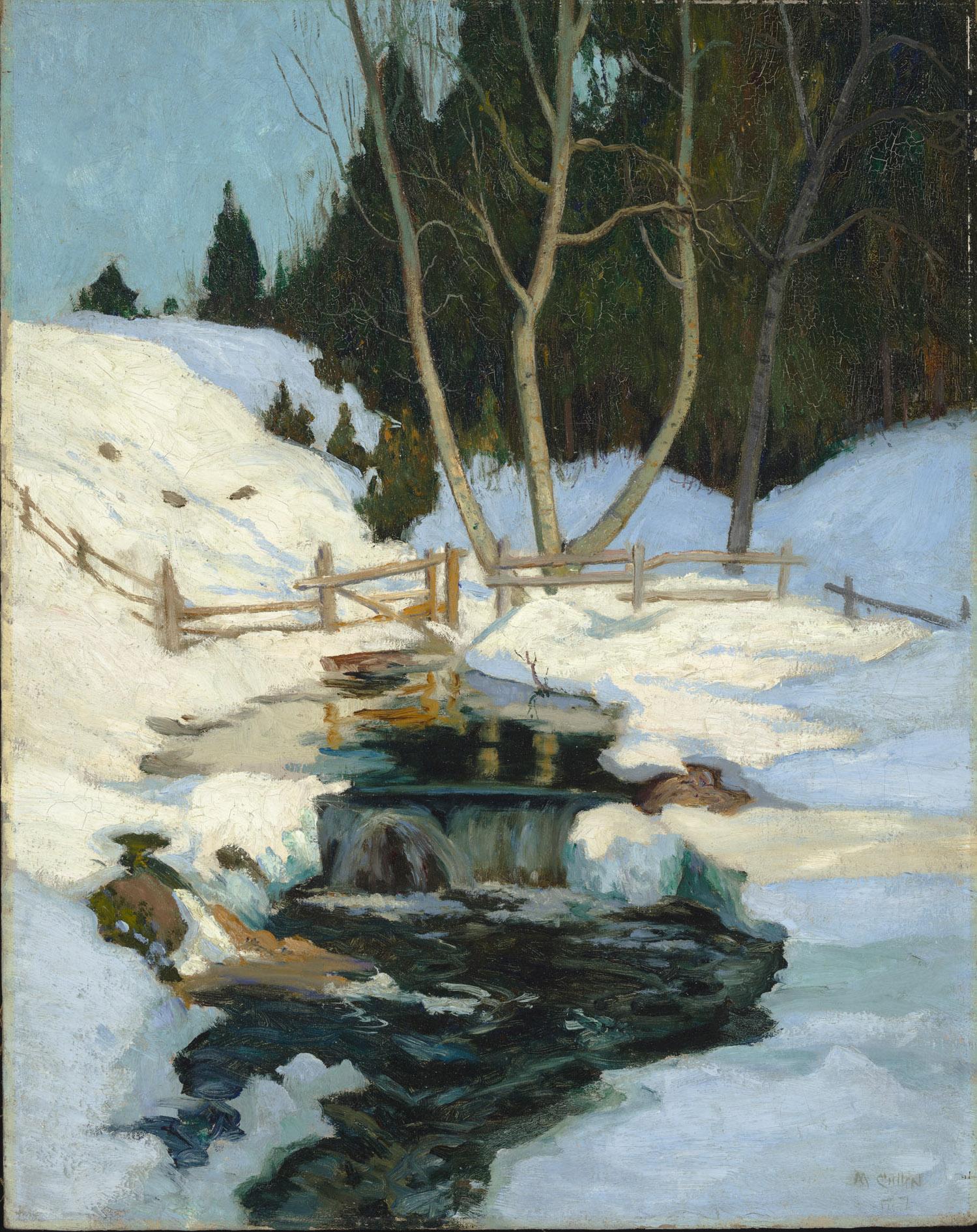 Maurice Cullen, La fonte des neiges