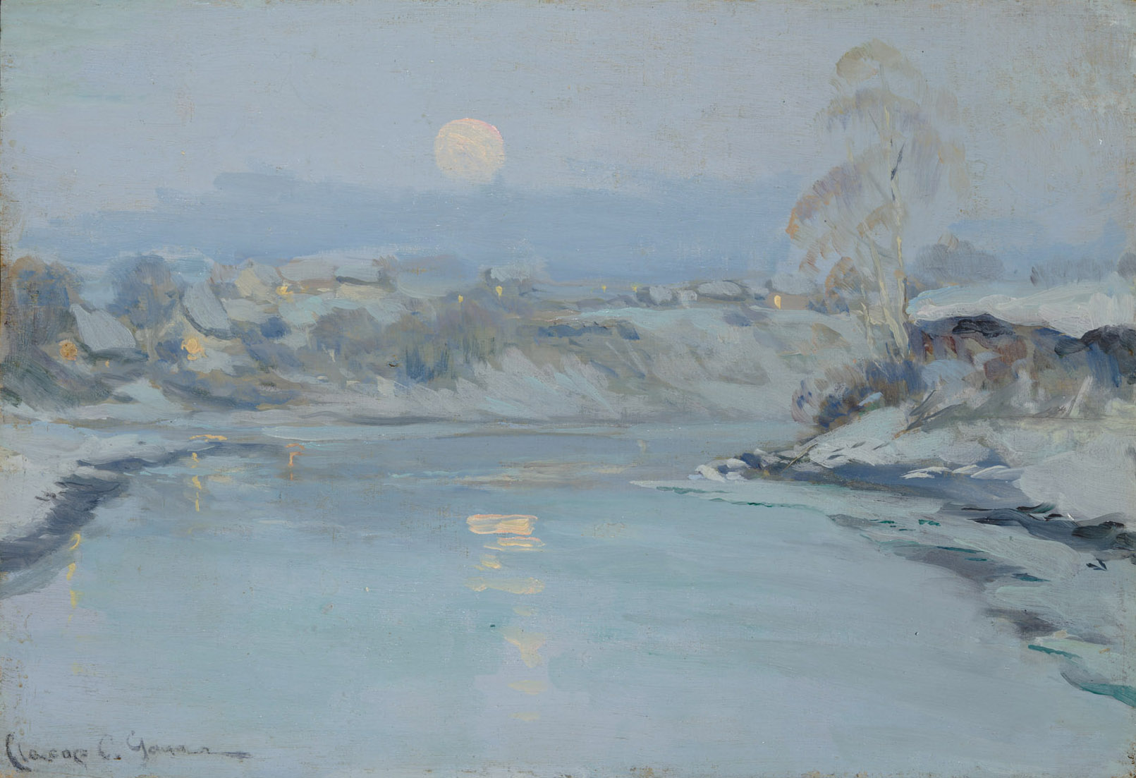 Clarence Gagnon, Lever de lune