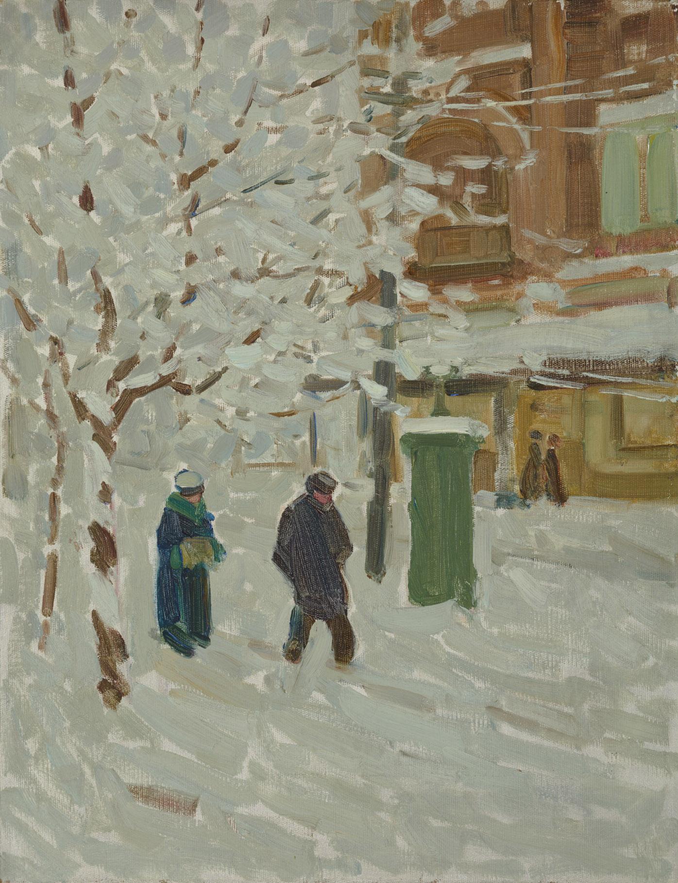 Montréal en hiver, d'Helen McNicoll