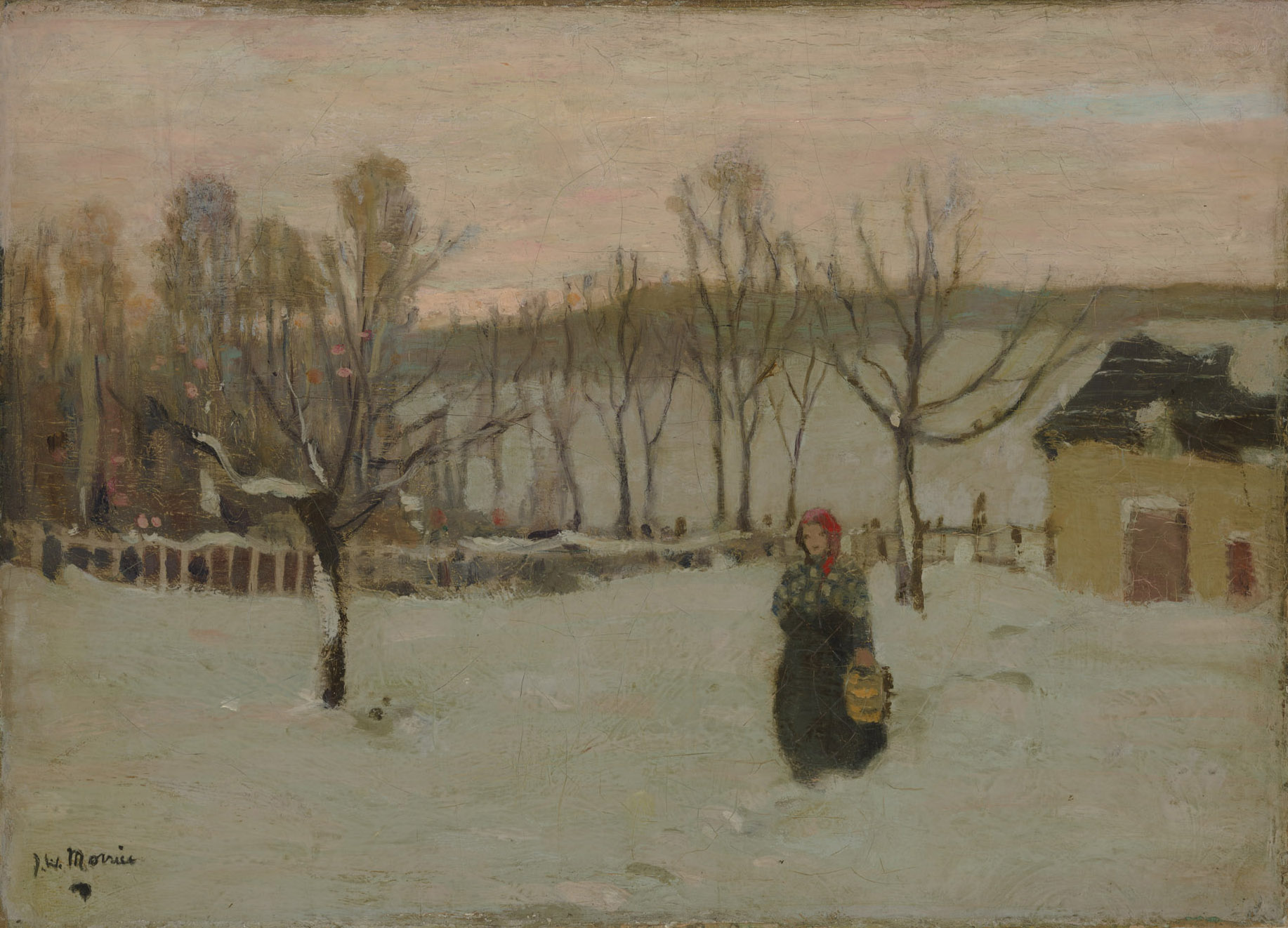Fin de journée, Beaupré de James Wilson Morrice
